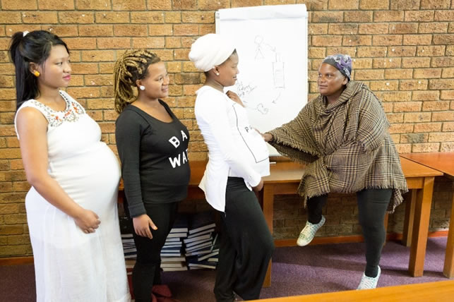 The HMHB© Programme teaches women about healthy pregnancies